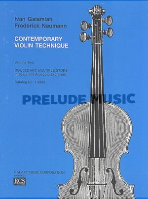 The Galamian Contemporary Violin Technique, Vol. 2