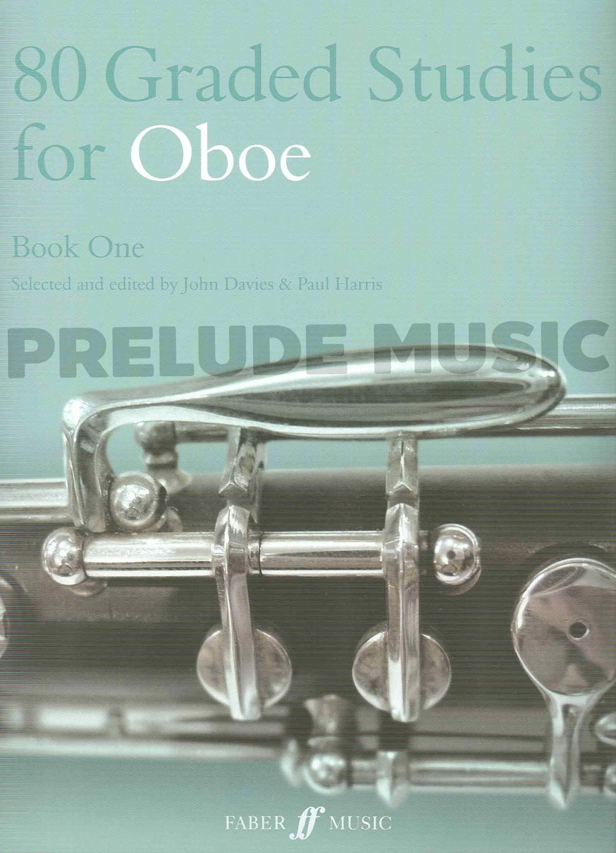 80 Graded Studies For Oboe Book 1