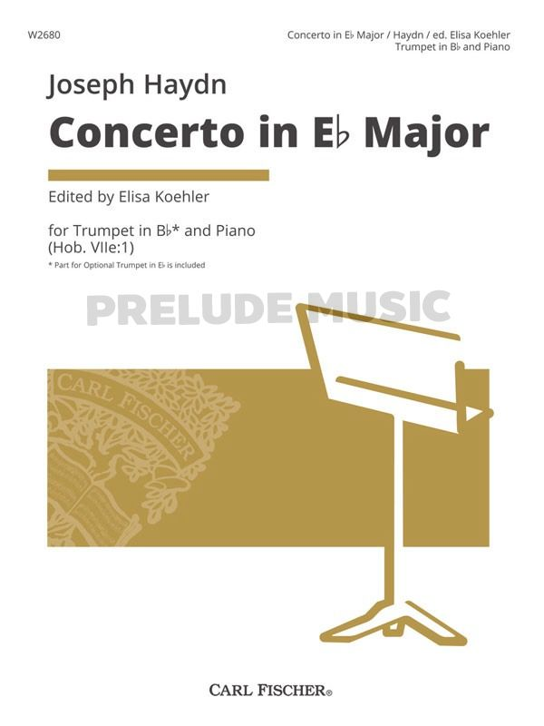 Concerto in Eb Major Franz Joseph Haydn