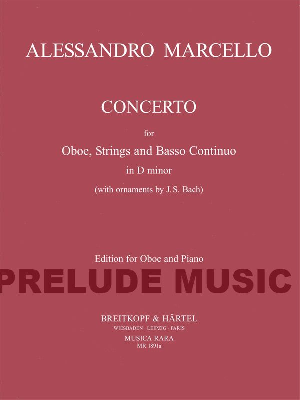 Concerto in D minor  oboe & piano