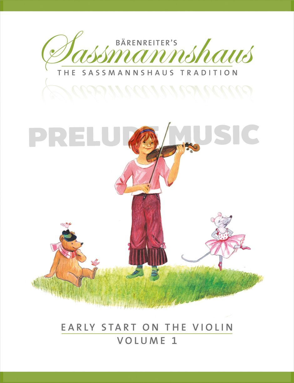 Sassmannshaus Early Start on the Violin Vol.1