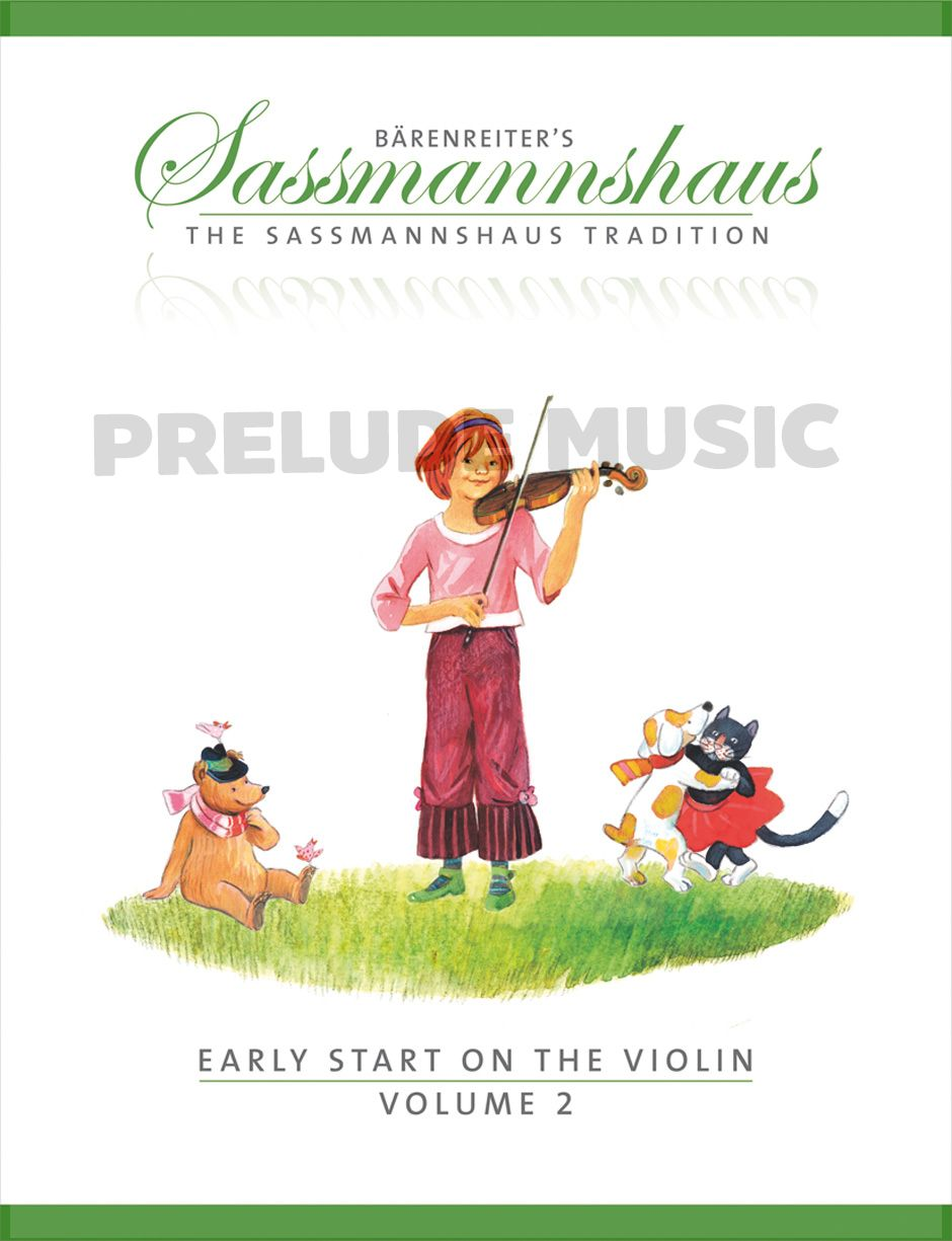 Sassmannshaus Early Start on the Violin Vol.2